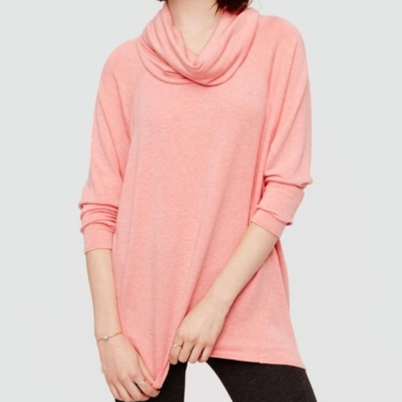 Lou & Grey Sweaters - Lou & Grey Cowl Neck Pullover Tunic